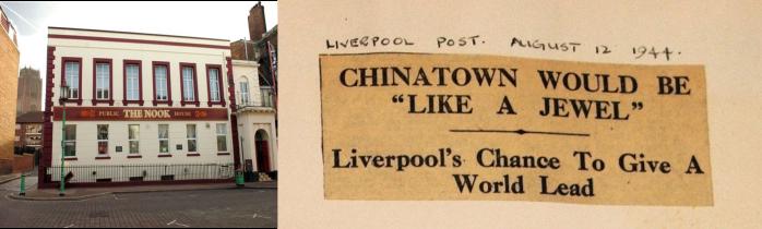 The Nook Pub Liverpool Chinatown