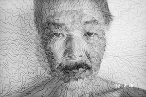 post-war Japanese photography Masahisa Fukase self-portrait