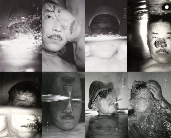 post-war Japanese photography Masahisa Fukase self-portrait bukubuku