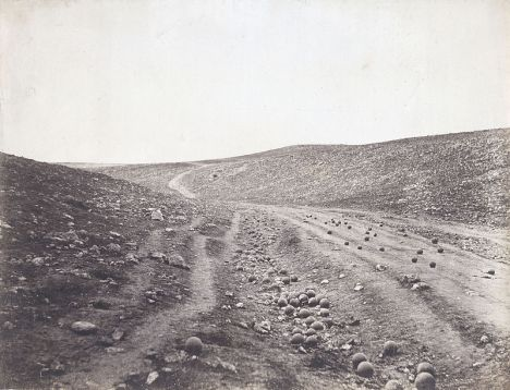 Roger Fenton's Valley Of the Shadow of Death